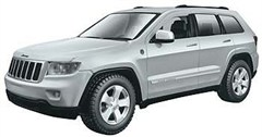 1:24 Model Assembly Kit, 2011-2013 Jeep Grand Cherokee Laredo