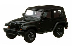Collectible Jeep Wrangler Rubicon 10th Anniversary in Black 1:43