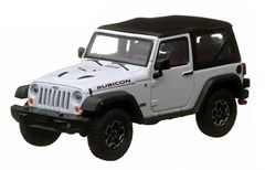 Collectible Jeep Wrangler Rubicon in Bright White 1:43