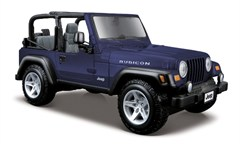1:27 Jeep Wrangler Rubicon,Blue or Khaki-Special Edition Diecast