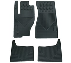 Mopar Front & Rear Slush Mats for Jeep Grand Cherokee 2005 -2007 & Jeep Commander 2006 - 2010, Slate Grey