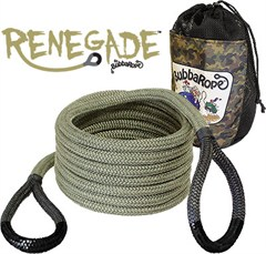 Bubba Rope� 3/4 inch x 20' Renegade� Jeep Recovery Rope, Breaking Strength: 19,000 lbs.