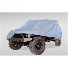 Full Car Cover Wrangler JK 4D 2007-2016 3 Layer Rugged Ridge