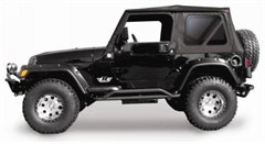 Rampage Soft Top Replacement Skin w/Tint Windows TJ 1997-2006