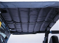 Acoustic Island Topper Header Mount, 97-06 Jeep Wrangler, Denim Black