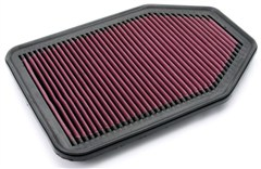 Synthetic Air Filter, Reusable, Jeep JK (2007-2014), Black