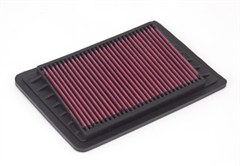 Air Filter, Synthetic Panel, Rugged Ridge, Jeep Wrangler (TJ) 2003-2006 2.4L, Liberty (KJ) 2002-2006 2.4L