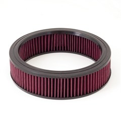 Air Filter Synthetic, Round, Rugged Ridge, Jeep With CJ 232 Or 258 1972-1986, Wrangler (YJ) 1987-1990 258