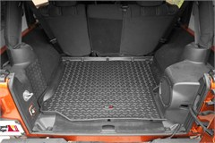 Black All Terrain Cargo Liner by Rugged Ridge for 2 and 4 Door Jeep Wrangler JK (2011-2014)