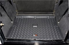 All Terrain Black Cargo Liner for Jeep Wrangler TJ (1997-2006) and LJ (2004-2006)