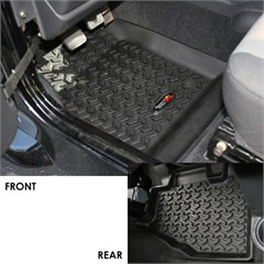 Floor Liner Kit, Jeep TJ (1997-2006), LJ (2004-2006)