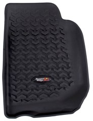 All Terrain Front Floor Liner Wrangler JK 2007-2016 Rugged Ridge