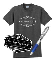 All Things Jeep 10th Anniversary Commemorative Gift Set