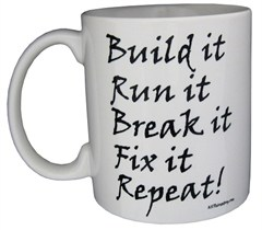 "All Things Jeep ""Build It, Break It"" Coffee Mug"