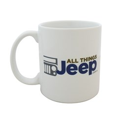 All Things Jeep Logo Mug