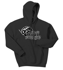 """Where's Your Playground?"" Cherokee XJ Adult Hoodie (Multiple Colors)"