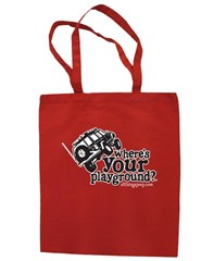 """Where's Your Playground?"" Cherokee XJ Canvas Tote"