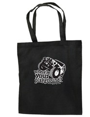 """Where's Your Playground?"" Wrangler JK Canvas Tote"