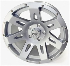 "Silver 17X9"" Aluminum Wheel for Jeep Wrangler JK (2007-2014)"