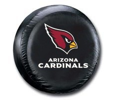 Arizona Cardinals NFL Tire Cover - Black Vinyl