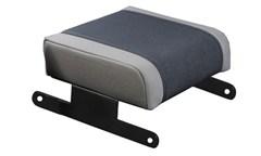 Armrest Pad, Neoprene, Jeep JK (2007-2010), Black/Gray