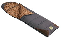 Jeep Sleeping Bag, Flannel Liner, 25 degree temp. rating