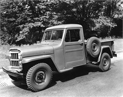 Jeep Poster/Print 1950 Willys Overland One-Ton Jeep Pickup