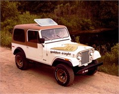 Jeep Poster/Print 1979 AMC Jeep CJ7 Golden Eagle