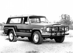 Jeep Poster/Print 1981 AMC Jeep Cherokee Chief