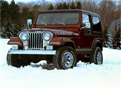 Jeep Poster/Print 1986 AMC Jeep CJ-7 Laredo Hard Top