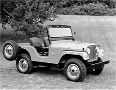 Jeep Poster/Print 1963 Willys Jeep CJ5