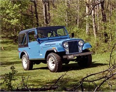 Jeep Poster/Print 1977 AMC Jeep CJ7 Renegade