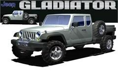 Jeep Poster/Print Jeep Gladiator Concept JK II