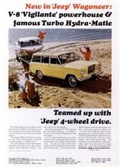 Jeep Poster/Print 1965 Jeep Wagoneer Vigilante V8/T.H.M Ad