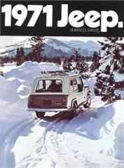 Jeep Poster/Print 1971 AMC Jeep Commando Ad
