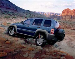 Jeep Poster/Print 2007 Jeep Liberty Sport KJ (Wheeling w/Suspension Detail)