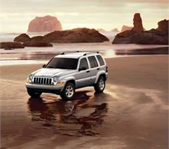 Jeep Poster/Print 2007 Jeep Liberty Limited KJ (Beach)