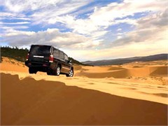 Jeep Poster/Print 2007 Jeep Commander Overland (Dunes)