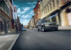 Jeep Poster/Print 2007 Jeep Grand Cherokee Overland (City Street)