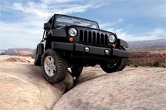Jeep Poster/Print 2007 Jeep Wrangler JK (Moab's Golden Crack)