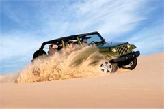 Jeep Poster/Print 2007 Jeep JK Wrangler (Dunes!)