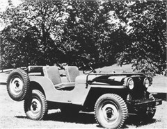 Jeep Magnets, 1946 Jeep CJ2A
