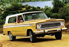 Jeep Magnets, 1974 AMC Jeep Cherokee 2 Door