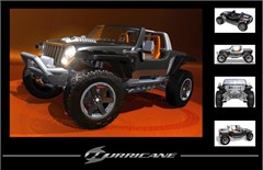 "Jeep Hurricane Concept ""5 Views"" Art"