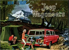 Jeep Magnets, 1963 Willys Jeep Wagoneer Brochure Cover