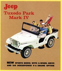 Jeep Magnets, 1965 Jeep Tuxedo Park Advertisement
