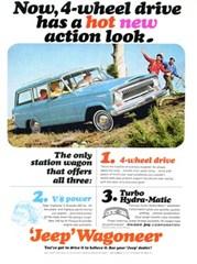 Jeep Magnets, 1965 Kaiser Jeep Wagoneer Ad
