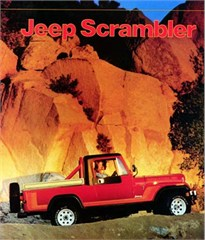 Jeep Magnets, 1981 AMC Jeep CJ8 Scrambler Ad