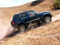 Jeep Magnets, 2007 Jeep Liberty Limited KJ (Hill Climb)