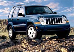 Jeep Magnets, 2007 Jeep Liberty (In the Gravel)